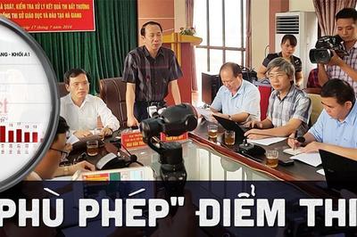 Nhiềuthí sinh Hà Giang, Sơn La được nâng điểm là con em lãnh đạo đương nhiệm