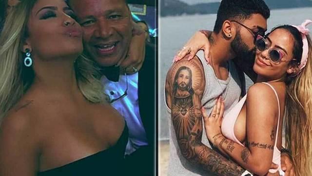 Cha Neymar ẩu đả với bạn trai cũ của con gái