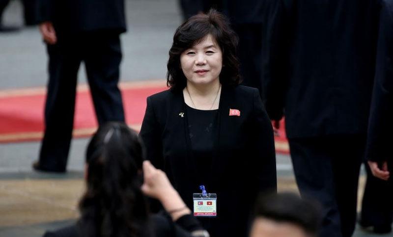 Triều Tiên,nữ thứ trưởng,Kim Jong Un,Choe Son Hui