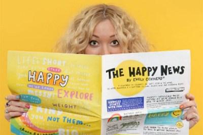 Cô gái trẻ sáng lập tờ báo mang tên Hạnh phúc