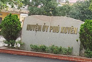 Không có chuyện yểm bùa ở trụ sở huyện Phú Xuyên, Hà Nội