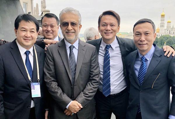 FIFA chairman congratulates VFF deputy chairman Tuan on re-election