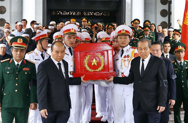 State funeral held for legendary general of Ho Chi Minh Trail