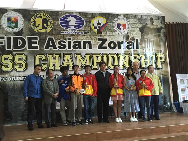 Vietnamese chess masters compete in Mongolia for world champs' slots