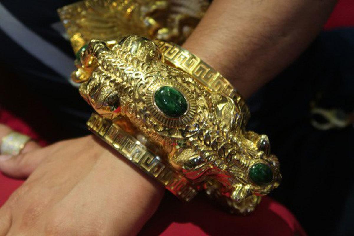 Phúc XO,khoe của,đeo vàng