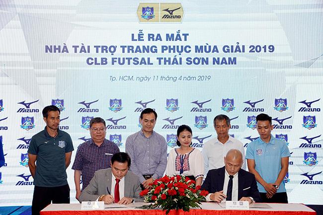 futsal,Thái Sơn Nam,bầu Tú