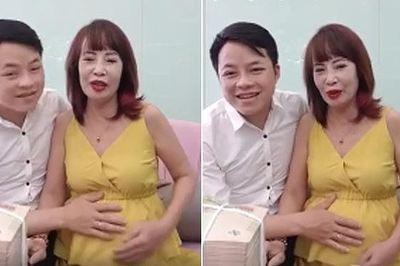Lý do cô dâu Thu Sao 62 tuổi lấy chồng 26 vẫn có thể mang bầu