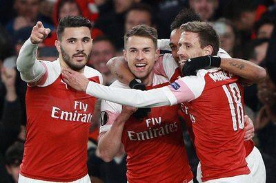 Ramsey lập công, Arsenal đánh gục Napoli