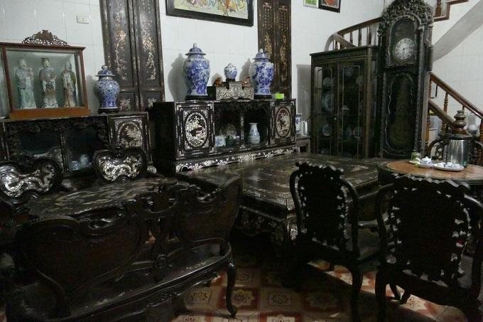 Bí ẩn chiếc long sàng đế vương giá bạc tỷ của đại gia Nam Định