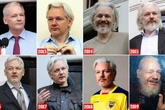 Hình ảnh 7 năm ẩn náu, người sáng lập WikiLeaks già như ông lão