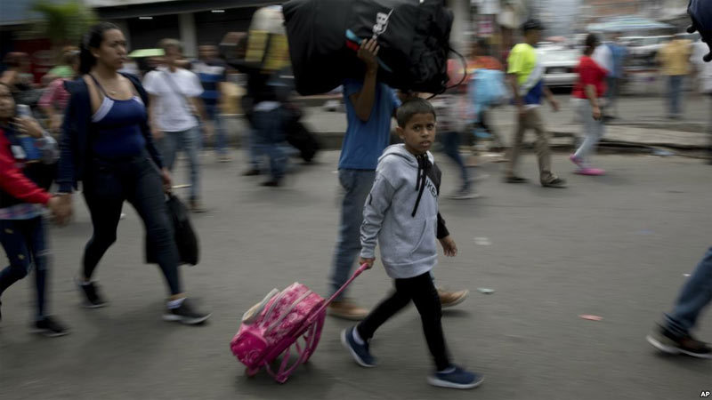 Venezuela,người tị nạn,di cư