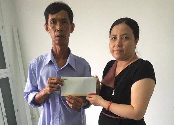Bé Nguyễn Tấn Cường bị viêm cơ tim đã đi học trở lại