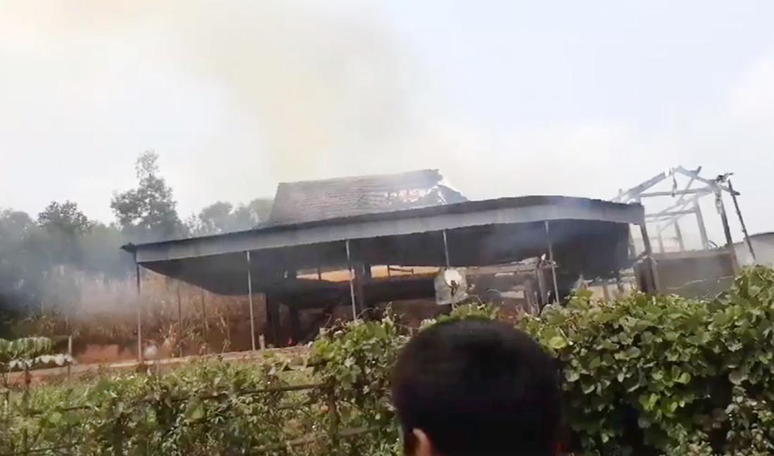 Cháy Nhà,Nghệ An
