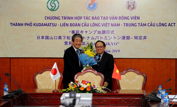Vietnam, Japan to boost sport co-operation
