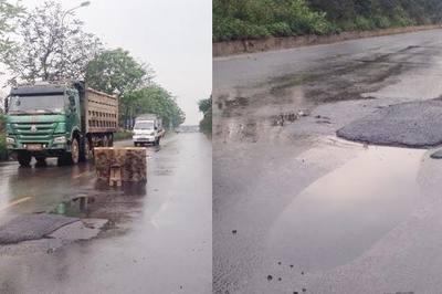 'Bẫy' tai nạn trên đại lộ Thăng Long