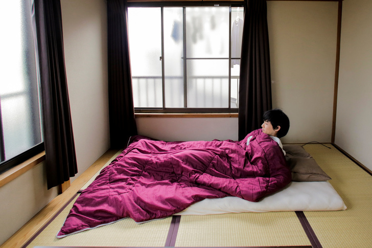 Bố trí căn hộ lạ như người Nhật: Nhàbé tẹo cũng rộng mênh mông