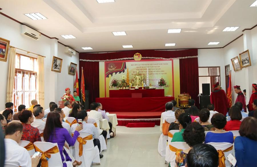 Kiều bào tại Thái Lan, Lào dự ngày Quốc tổ Việt Nam toàn cầu