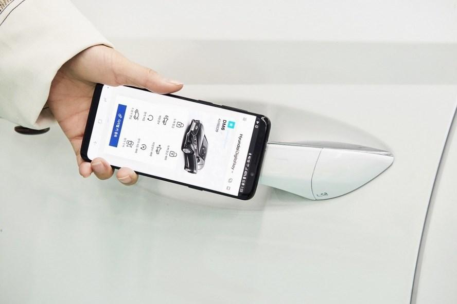 Điện thoại thông minh sẽ thay thế chìa khóa ô tô trong tương lai