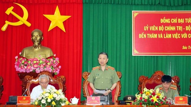 Tô Lâm,Bộ trưởng Tô Lâm,Đại tướng Tô Lâm,công an xã,công an chính quy