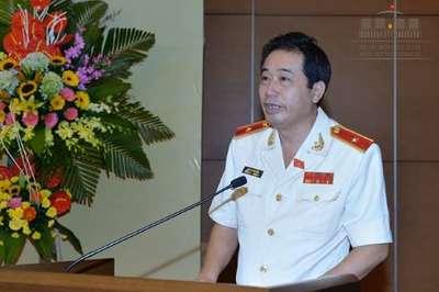 Thiếu tướng Lê Đình Nhường bị miễn nhiệm chức Phó Chủ nhiệm Ủy ban, thôi làm ĐBQH