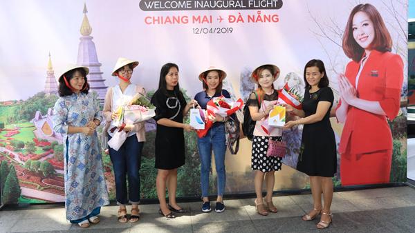 Thêm đường bay thẳng từ Đà Nẵng đến Chiang Mai
