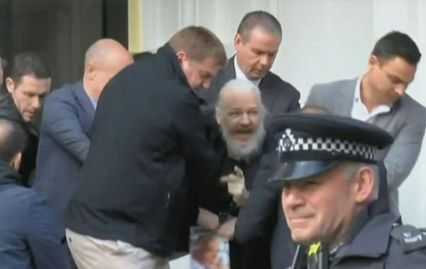 nhà sáng lập WikiLeaks,Julian Assange,tị nạn,đại sứ quán