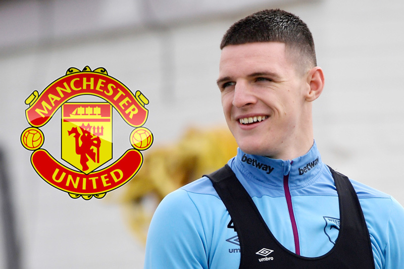 MU,Declan Rice,West Ham