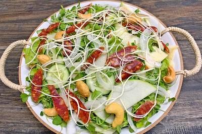 Salad món ăn giúp giảm cân, chống ngấy