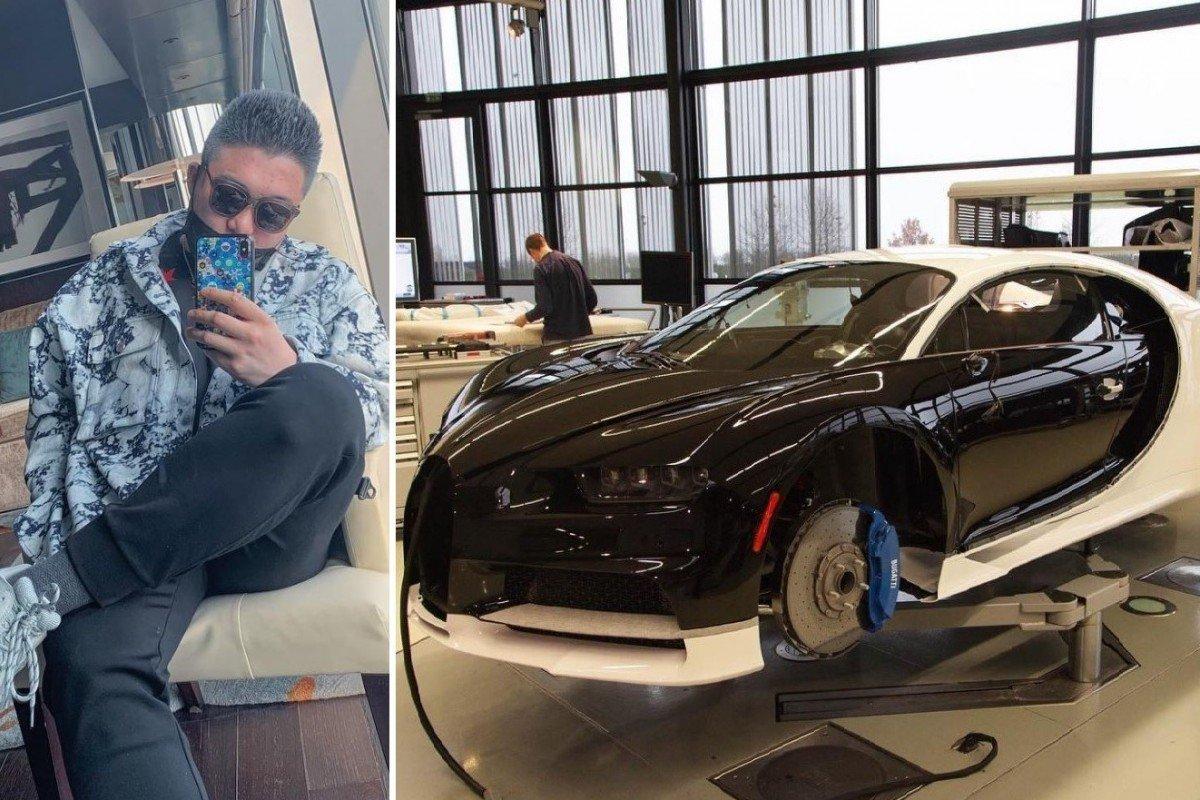 Thiếu gia khoe hóa đơn mua Bugatti Chiron 88 tỷ gây choáng