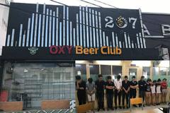 60 dân chơi phê ma túy trong bar Oxy ở Sài Gòn