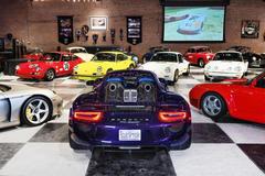 Bộ sưu tập xe Porsche đắt giá nhất thế giới vừa bị thiêu rụi