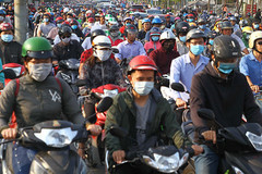 When will motorcycle emissions be put under control?