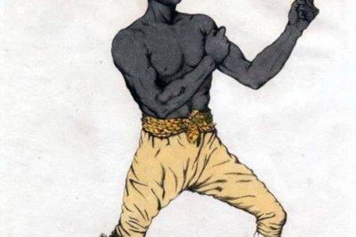 Võ sĩ quyền Anh danh tiếng xuất thân từ nô lệ da đen