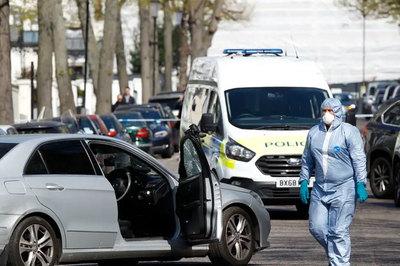 Xe đại sứ Ukraina bị đâm, cảnh sát Anh nổ súng bắt sống nghi phạm