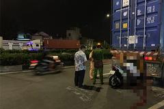 Xe máy cắm đầu vào đuôi xe container, nam thanh niên chết thảm