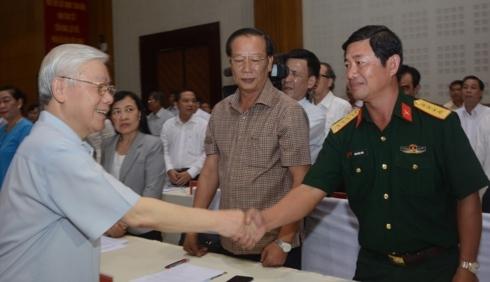 Tổng bí thư,Chủ tịch nước Nguyễn Phú Trọng,Nguyễn Phú Trọng,Kiên Giang