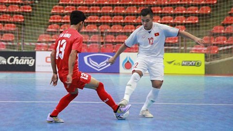 Vietnam in Group C at AFC U20 Futsal Championship finals