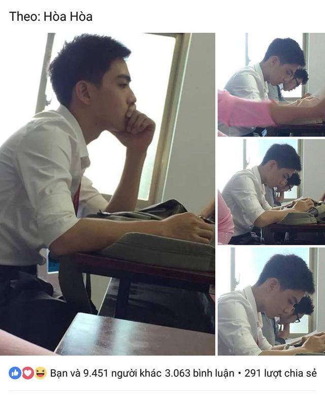 'Hot boy bàn bên' ĐH Tôn Đức Thắng khiến dân mạng rần rần tìm kiếm