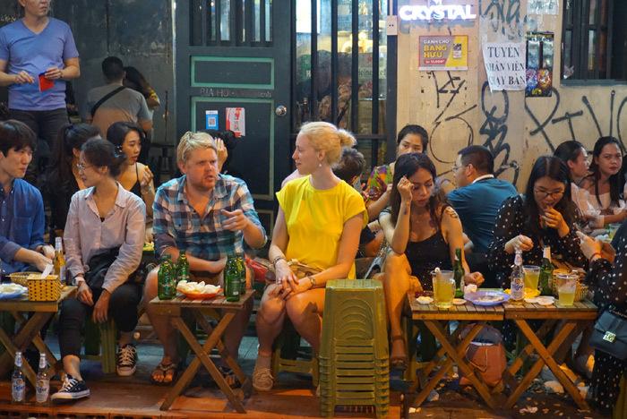 Popular Hanoi tourist street