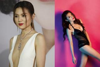 'Nữ hoàng nội y' Hong Kong bị chê ăn mặc phản cảm trên thảm đỏ