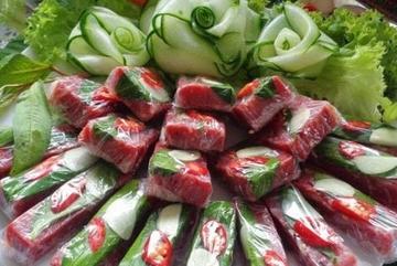 Yen Mac fermented spring roll
