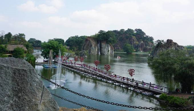 Top five destinations near HCM City