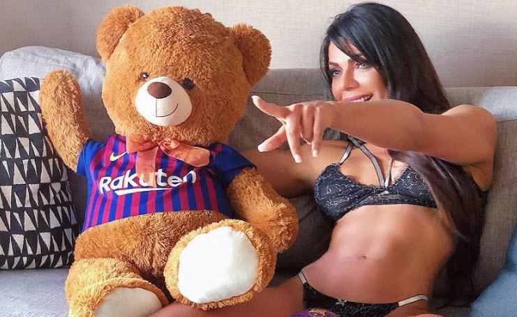 Suzy Cortez,Lionel Messi,Messi,Barca,MU,Barca vs MU