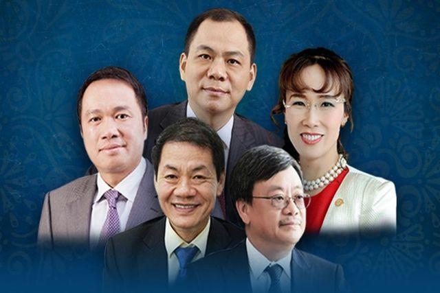 Phạm Nhật Vượng,tỷ phú Việt,tỷ phú USD,Nguyễn Thị Phương Thảo,Hồ Hùng Anh