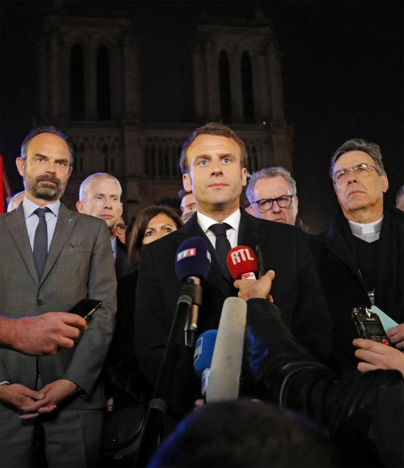 Tỷ phú Pháp chi trăm triệu Euro tái thiết Nhà thờ Đức Bà