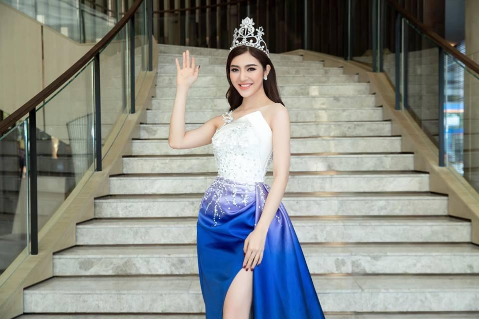 Nhan sắc nóng bỏng của Hoa hậu Việt lên truyền hình tìm người yêu