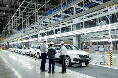 VinFast khánh thành nhà máy ô tô trước dự kiến 3 tháng
