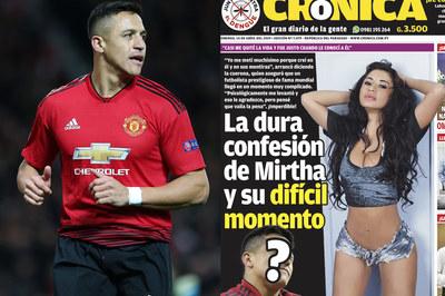 Alexis Sanchez bị tố lừa tình fan nữ Ronaldo