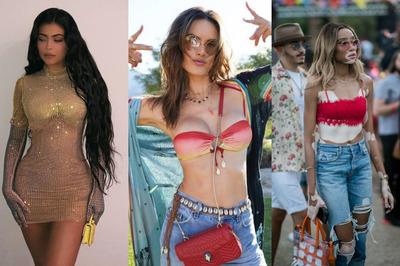 Siêu mẫu náo loạn lễ hội ngoài trời với trang phục sexy có đẳng cấp