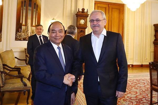 Thủ tướng hội kiến Chủ tịch Hạ viện Romania